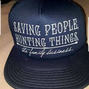 Hot Topic Supernatural trucker hat